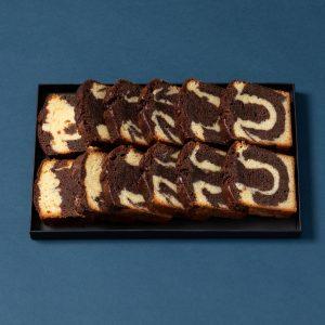 photo de cake marbré