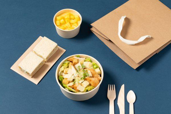 photo de lunch-box viande