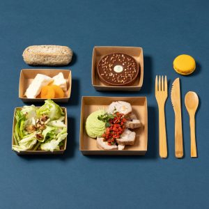 photo de plateau repas