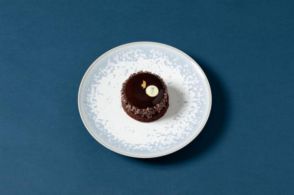 photo d'entremet chocolat