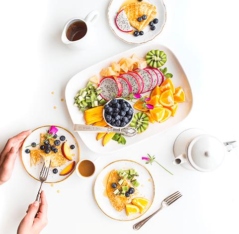 photo de petit dejeuner
